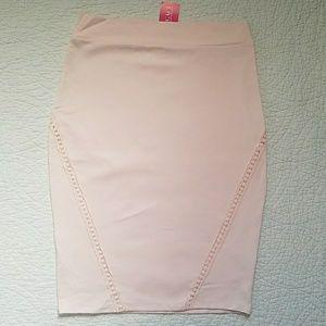 Midi Blush Skirt
